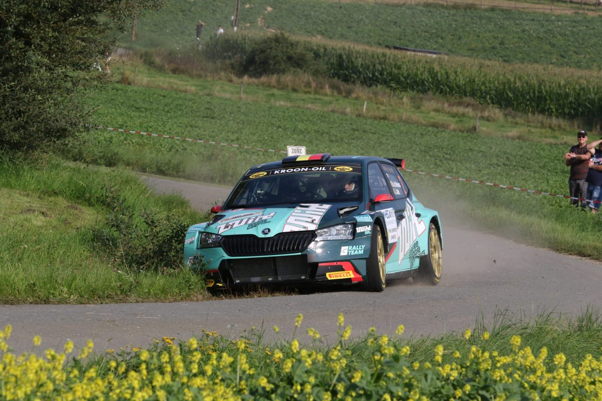Ghislain de Mevius se pose en favori pour l'East Belgian Rally